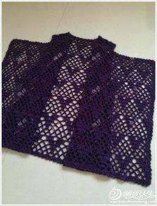 女宝宝背心的编织方法