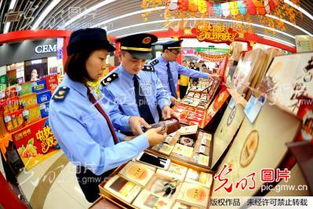 连云港为中秋月饼市场体检