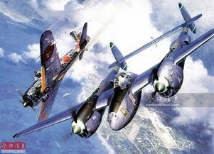 血染长空 图绘二战经典战机殊死搏杀
