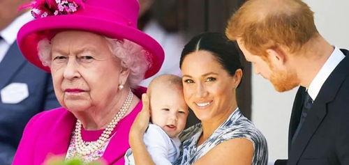 哈里最终还是孤单回国梅根跟儿子留在美国,坚持不给女王看重孙