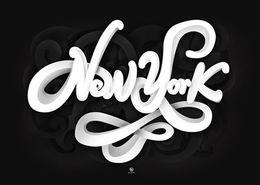 最新创意独特的英文字体设计欣赏