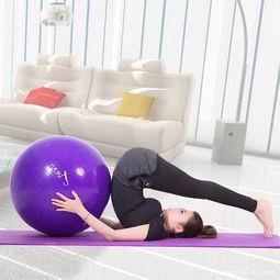 幼儿瑜伽球的训练