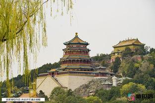 北京颐和园初冬景色如诗如画随手就能拍出大片儿