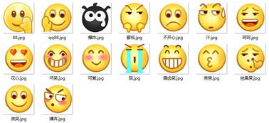 表情 qq经典表情大图 18张 表情图片 表白图片网 表情