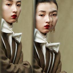张子枫时尚大片浓烈油画式妆容复刻优雅