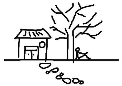 爬山图绘画心理测试方法与步骤