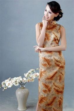 美丽的旗袍风韵 图片欣赏
