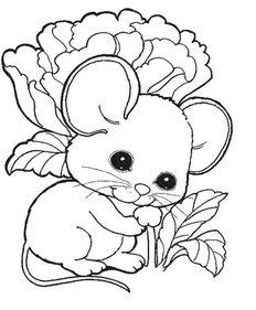 动物简笔画,简笔画作品,儿童简笔画,小老鼠简笔画的画法