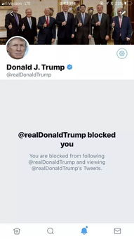 我被美国总统拉黑了法官裁定特朗普违宪