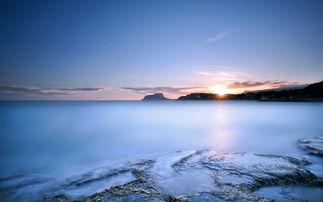 蓝色天空唯美风景桌面壁纸 第一辑