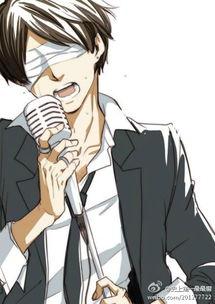 帅气男生动漫唱歌图-超拽霸气的男生动漫qq皮肤 帝王范儿