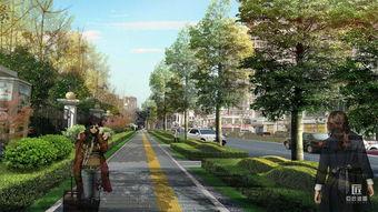 商洛市老城区道路绿化改造规划设计 作品 西安 .