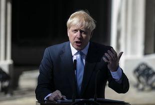 英国首相约翰逊.