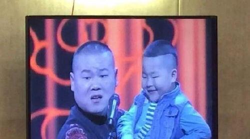 岳云鹏同撞脸男童同台
