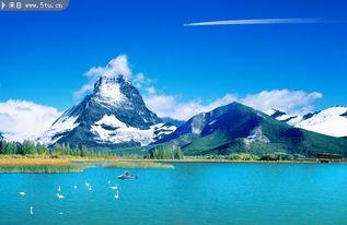 雪山风景图片 雪峰