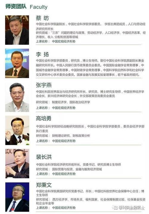 教育部认证的中国社科院大学美国杜兰大学金融硕士师资团队介绍中外合作办学