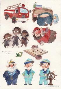 怎样成为儿童插画师
