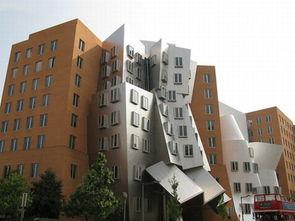 图为全球最奇形怪状建筑之一.