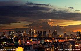 香港夜景 城市夜景图片