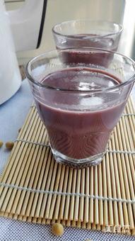 黑米豆浆的做法和配方