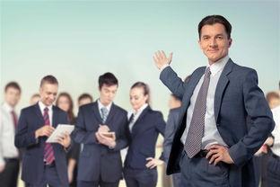 自信的商务团队高清图片
