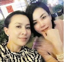 刘嘉玲王菲合照。