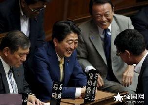 7月16日,日本东京,日本首相安倍晋三出席众议院全体会议.