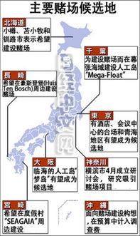 日媒日本拟新开设三处赌场借奥运会促进经济