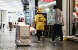 segway配送机器人开始试运营预计8月正式上岗