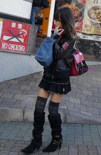 日本小学生的超龄早熟打扮引争议