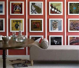 创意让墙面与众不同 打造更具个性区域
