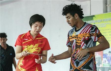 听说张怡宁要来,这里的乒乓球拍销售一空中乒院巴新训练中心成立有哪些幕后故事