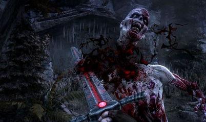 血腥指数五颗星 科幻恐怖游戏 地狱突袭 新图曝光