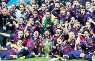 20142015赛季欧冠决赛巴萨挫败尤文加冕三冠王