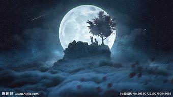 描寫月夜星空的詞語
