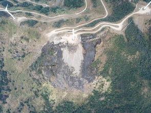 情侣放烟花引发山火河源缺牙山火灾后航拍图曝光,过火面积约10亩