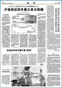 """人民日报:股市""""电梯行情""""还会玩多久?"""