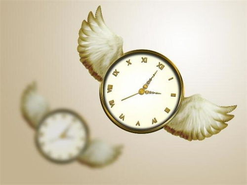 用夸张的手法描写时间过得快的句子