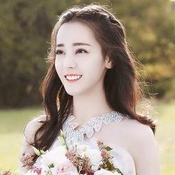 90后女明星的婚纱照迪丽热巴美艳,郑爽甜美,杨紫也太