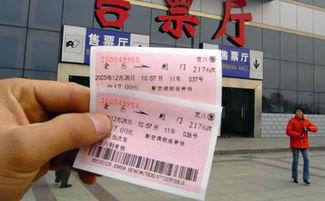 火车票资料图