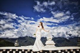 香格里拉婚纱照