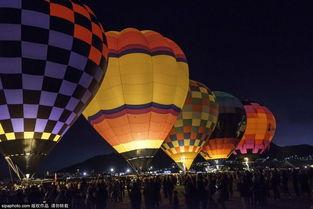 美国阿尔伯克基热气球节 体验梦幻之旅