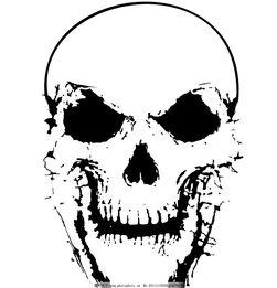 骷髅头图片