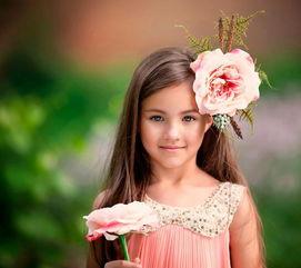 可爱萌萌哒的小女孩图片
