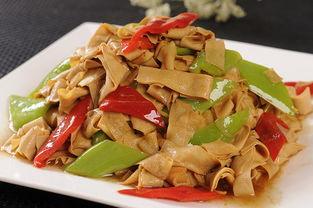 东北家常菜谱:尖椒干豆腐