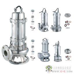 900*900图片:耐腐蚀排污泵 不锈钢潜水排污泵 pwf排污潜水泵