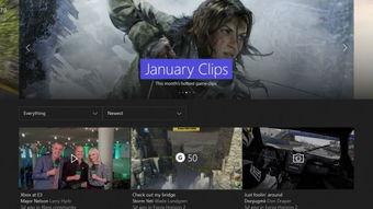Xbox One版Windows 10系统更新预览 社交和活动反馈