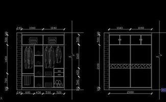 衣柜投影面积怎么计算公式
