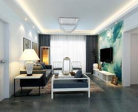5 10万中式客厅装修效果图欣赏