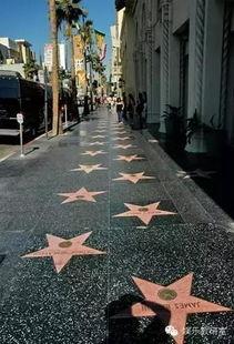 洛杉矶好莱坞星光大道图片